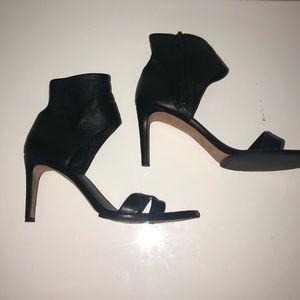 Vince Shoes - VINCE Annalie Leather Ankle Cuff Sandal Heel